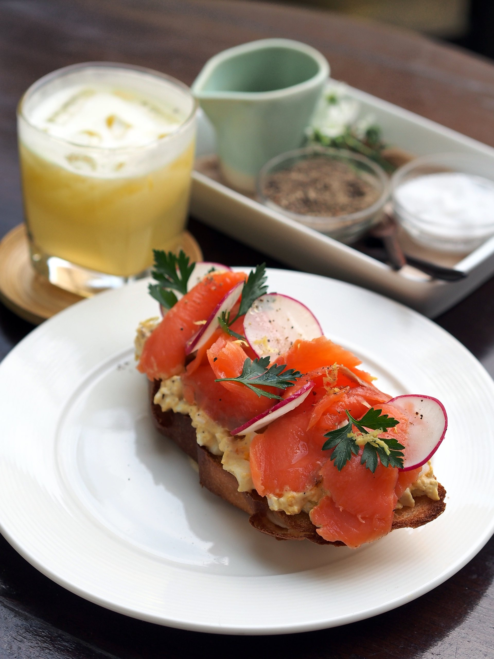 File:2014 smoked salmon and egg salad toasted baguette.JPG - Wikimedia ...