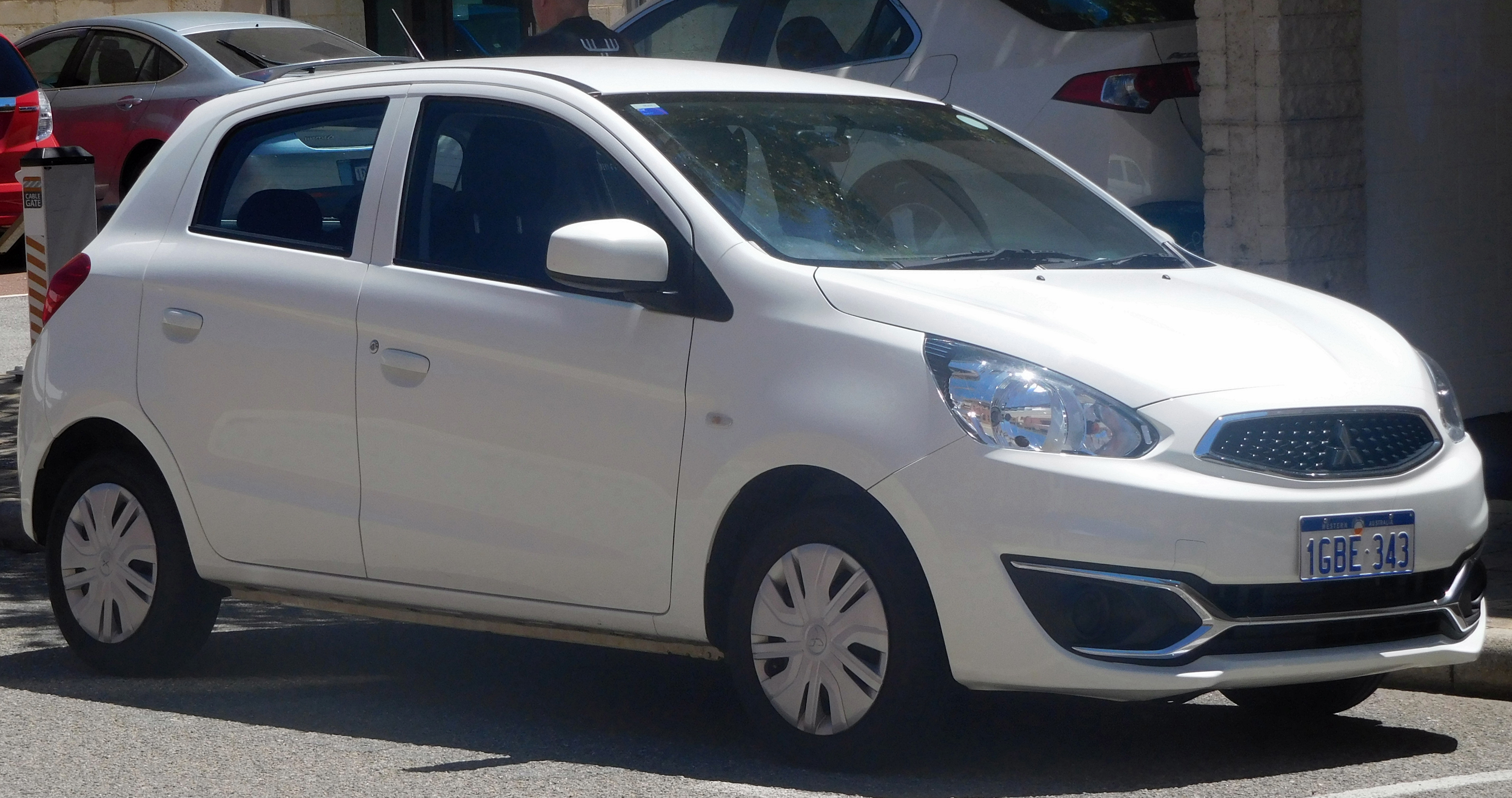 File 2016 Mitsubishi Mirage La My16 Es Hatchback 2018 02 21 01 Jpg