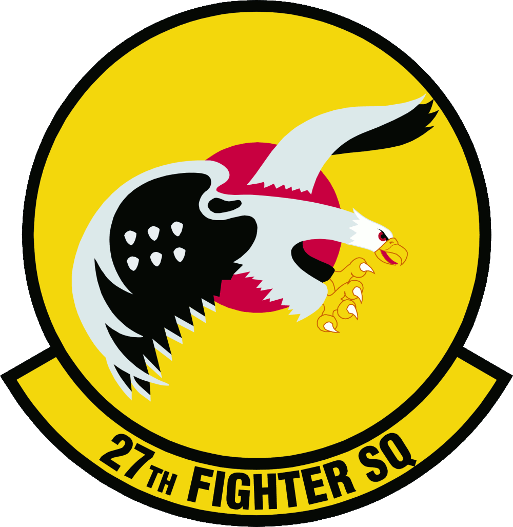 Fighter Squadron Logo 27th Fighter Squadron Emblem
