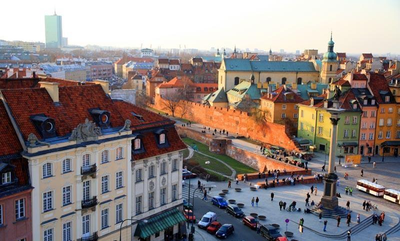 Warszawa - Zentrum - Quelle: WikiCommons