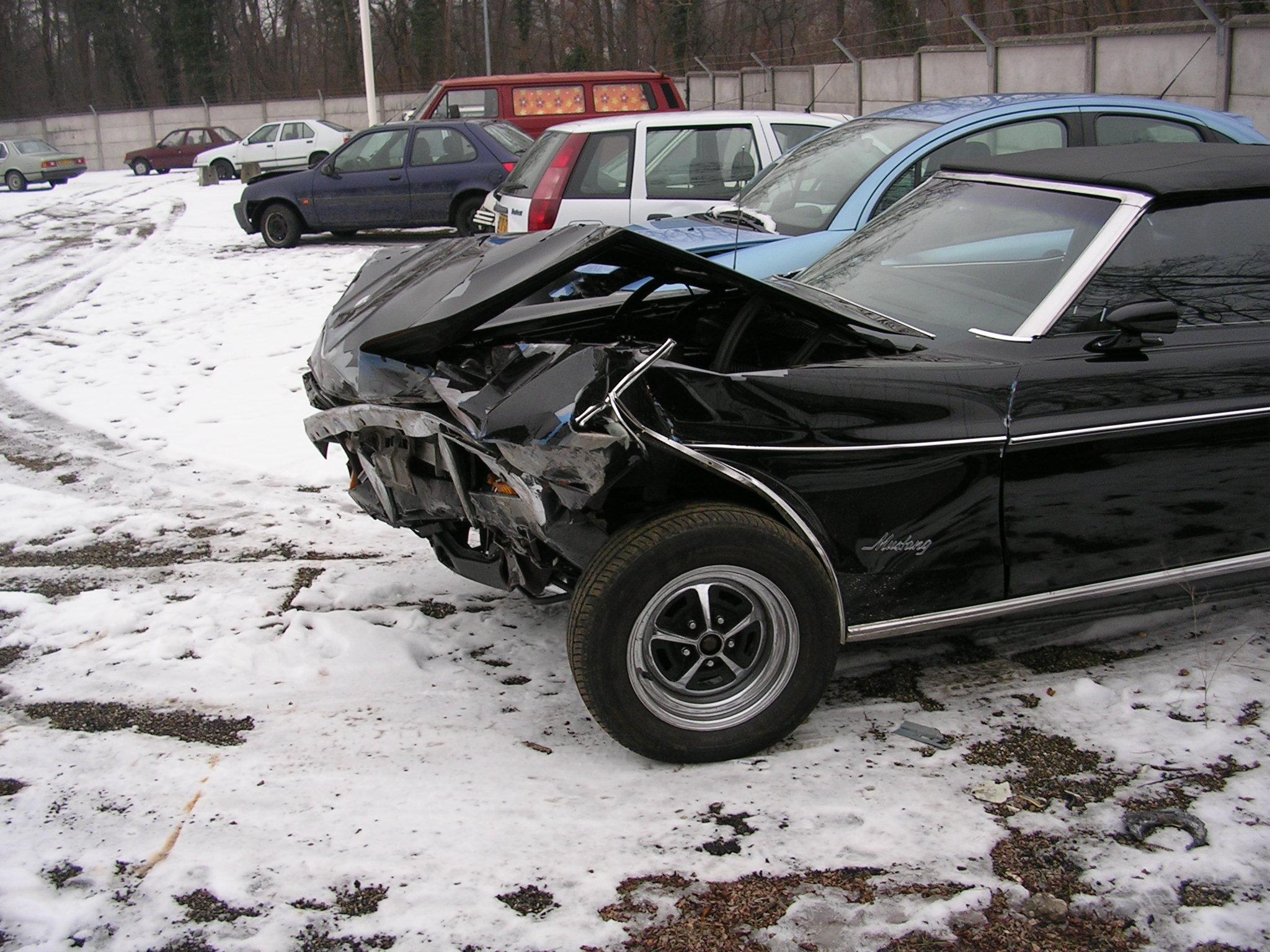 car crash description car crash
