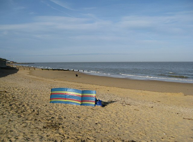 A deserted Jubilee beach at the end of the day - geograph.org.uk - 791107