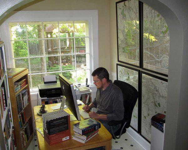 File Alex Grecian Working at Desk 2012 Wikimedia