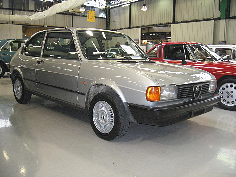 "Restauration Alfasud ""Ti"" Alfa-Romeo_Alfasud-Mk2_Front-view"