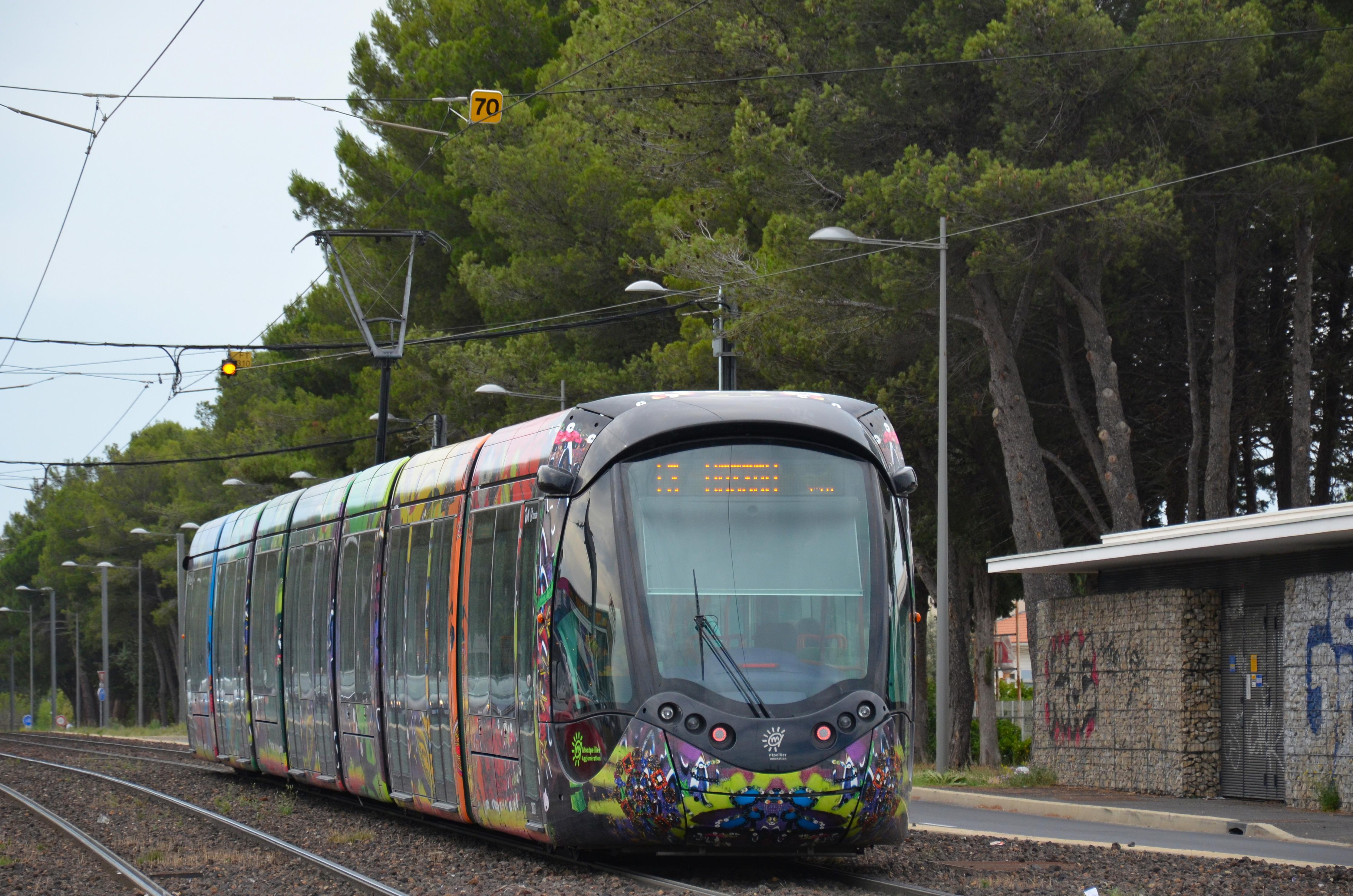 Ligne 3 Du Tramway De Montpellier Wikipedia