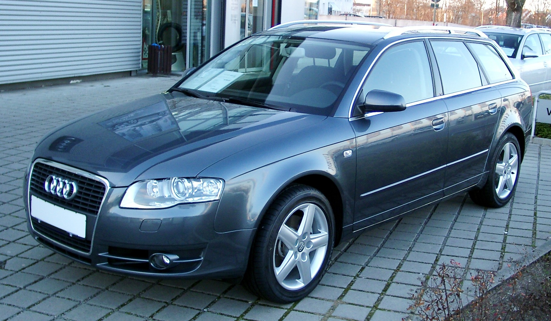 File Audi A4 Avant Front 20071215 Jpg Wikimedia Commons