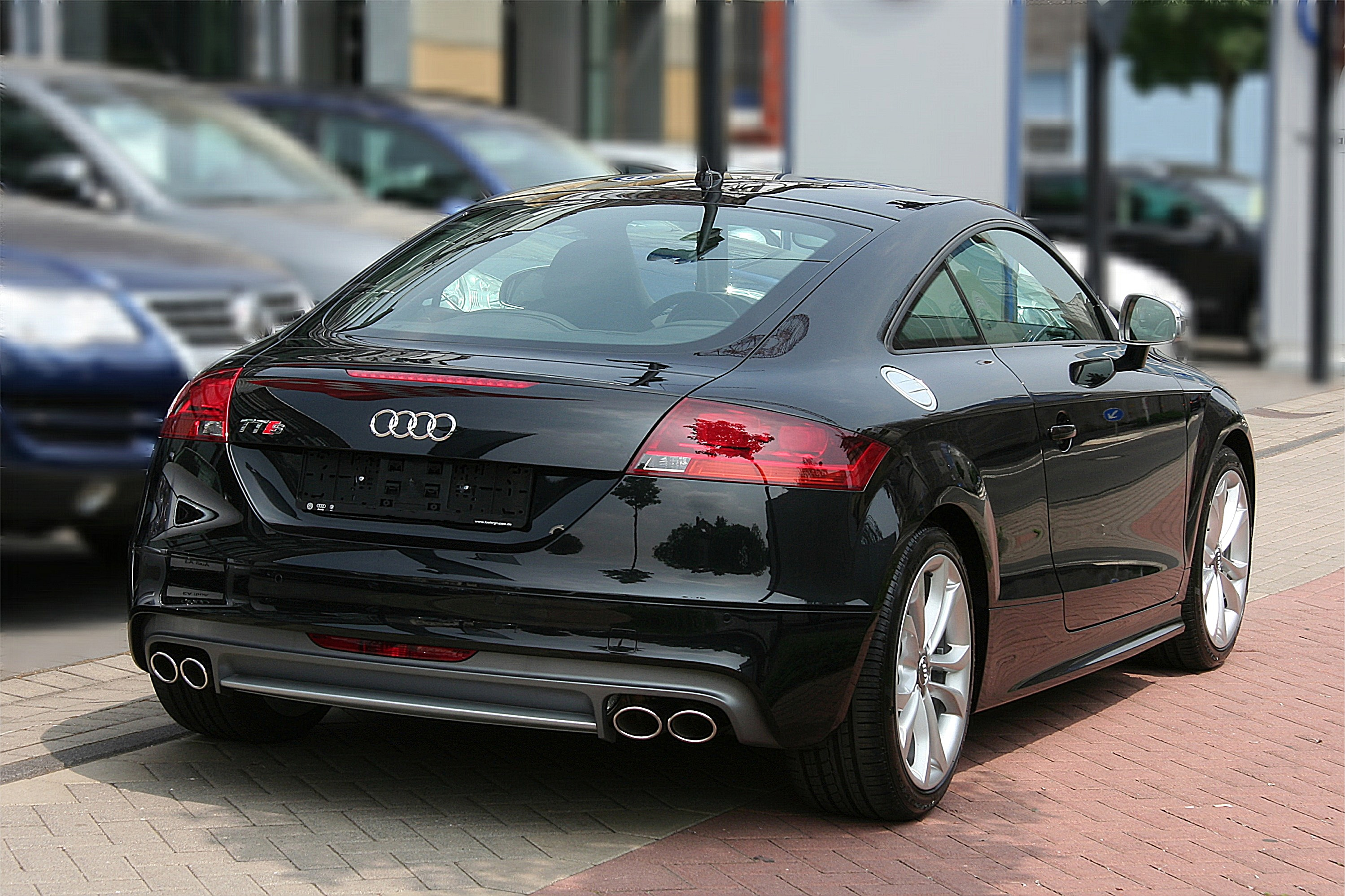 File:Audi TTS, Bj. 2008 (2008-05-29) Heck.jpg - Wikimedia ...