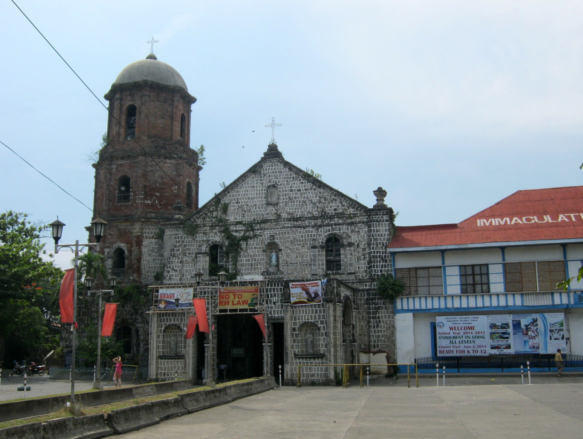 Immaculate Conception Parish Church Balayan Wikipedia