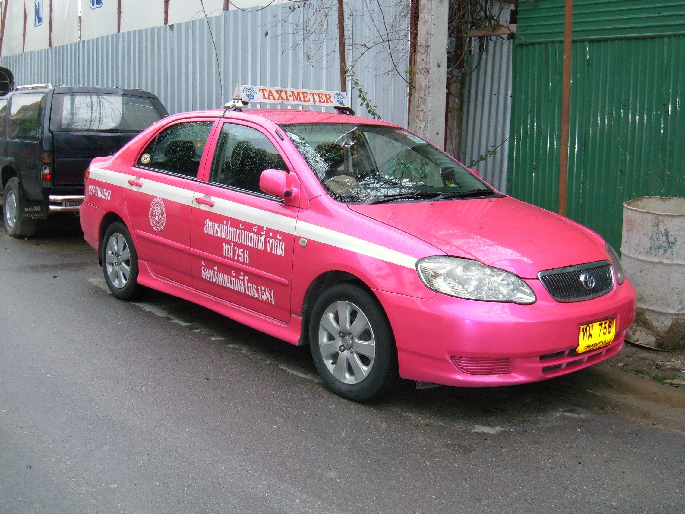File Bangkok Toyota Corolla Taxi Jpg Wikimedia Commons