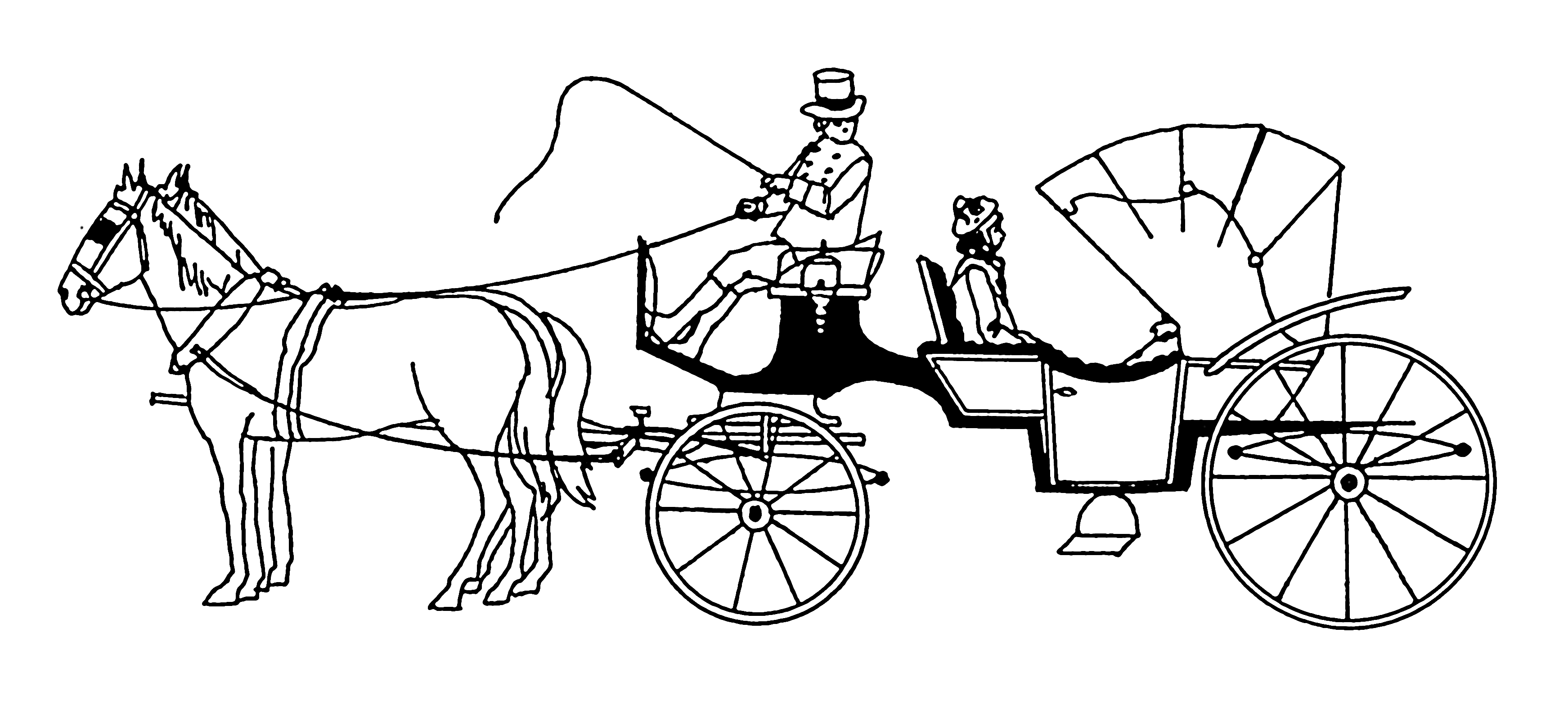 Cheval Voiture Coloriage.Voiture Hippomobile Wikipedia