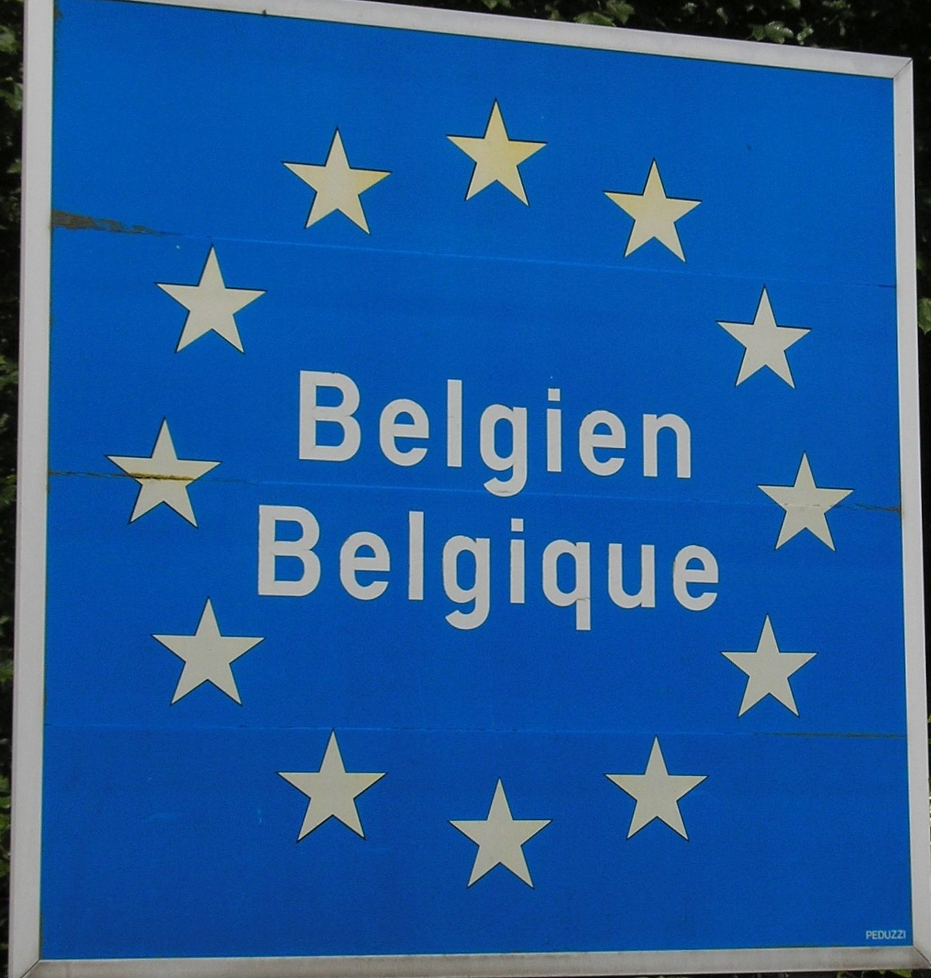 Grenze Belgien