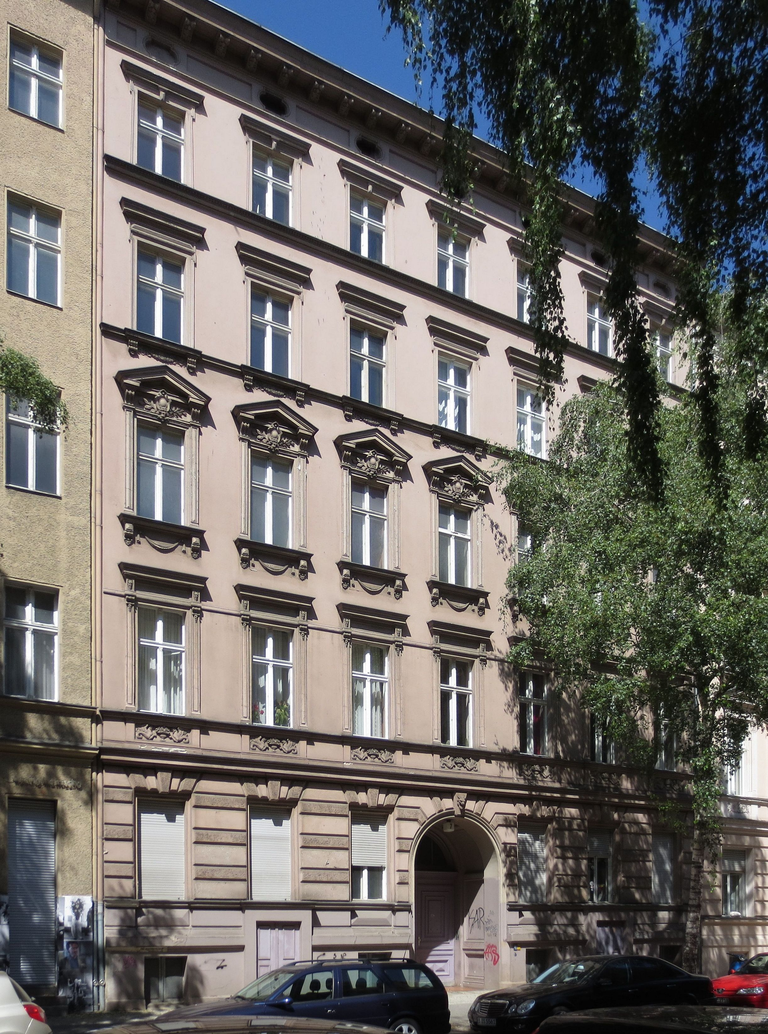 file berlin schoeneberg blumenthalstrasse 7 wikimedia commons. Black Bedroom Furniture Sets. Home Design Ideas