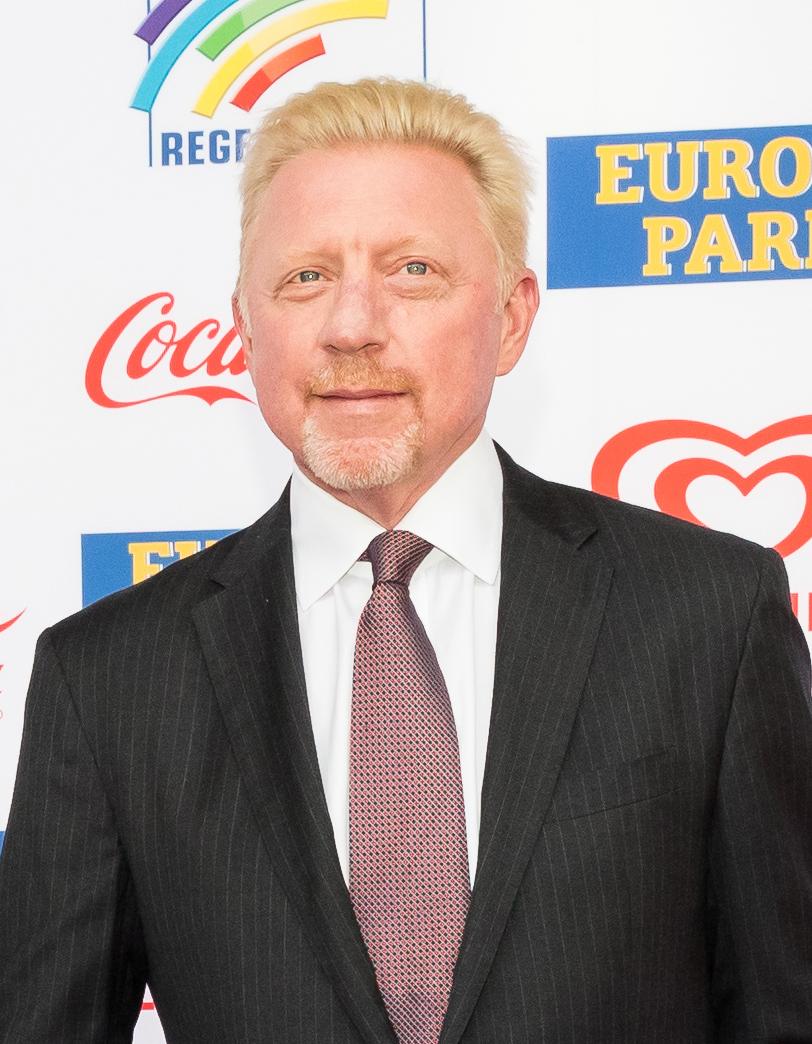"52-letni 190 cm wzrostu Boris Becker na zdjęciu z 2020"""