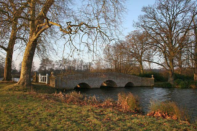 Bridge on Tundry Pond - geograph.org.uk - 1097004