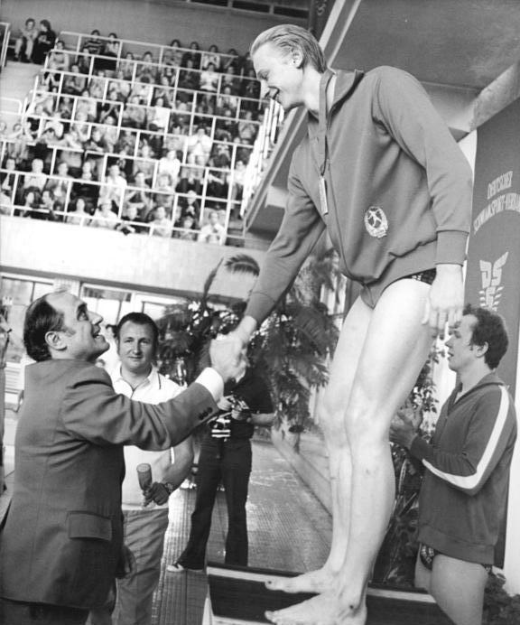 schwimmen olympia 1976