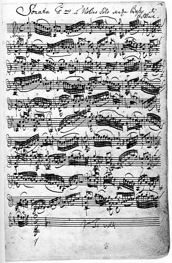 бах концерт ля минор для скрипки и фортепиано ноты