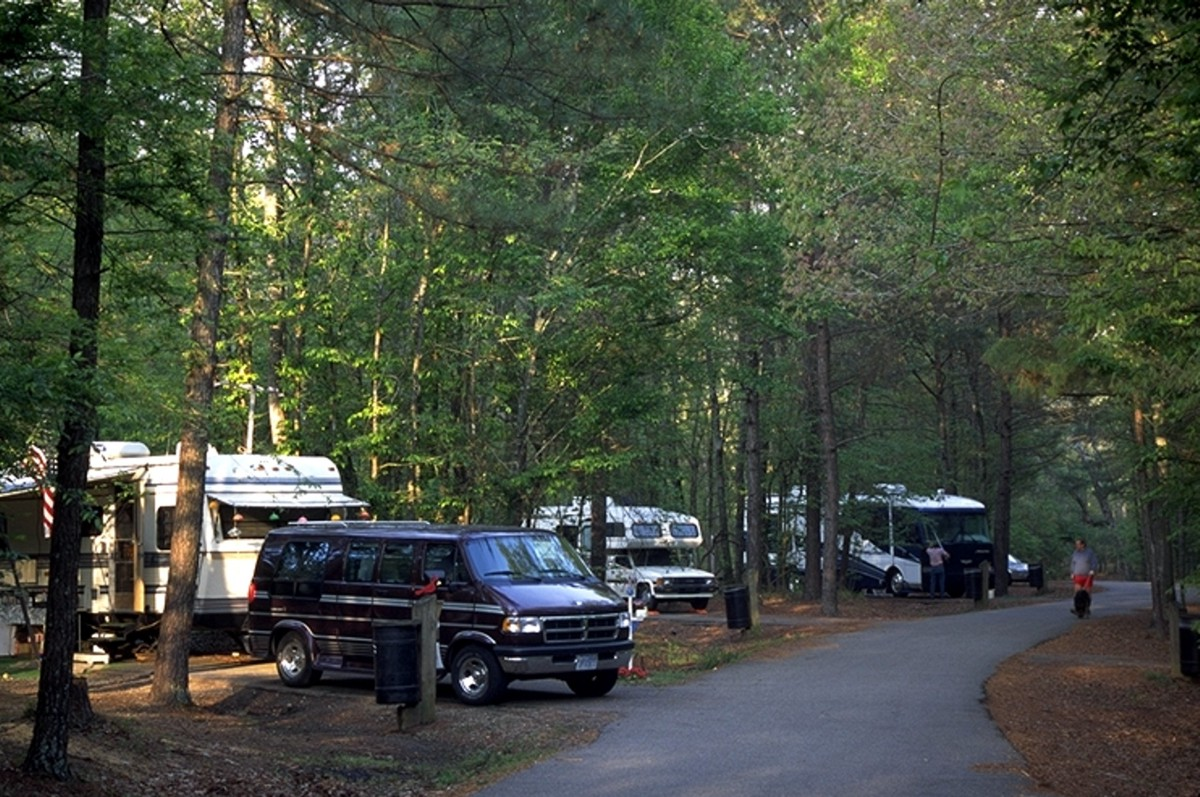 File Campers On Chicot State Park Jpg Wikipedia