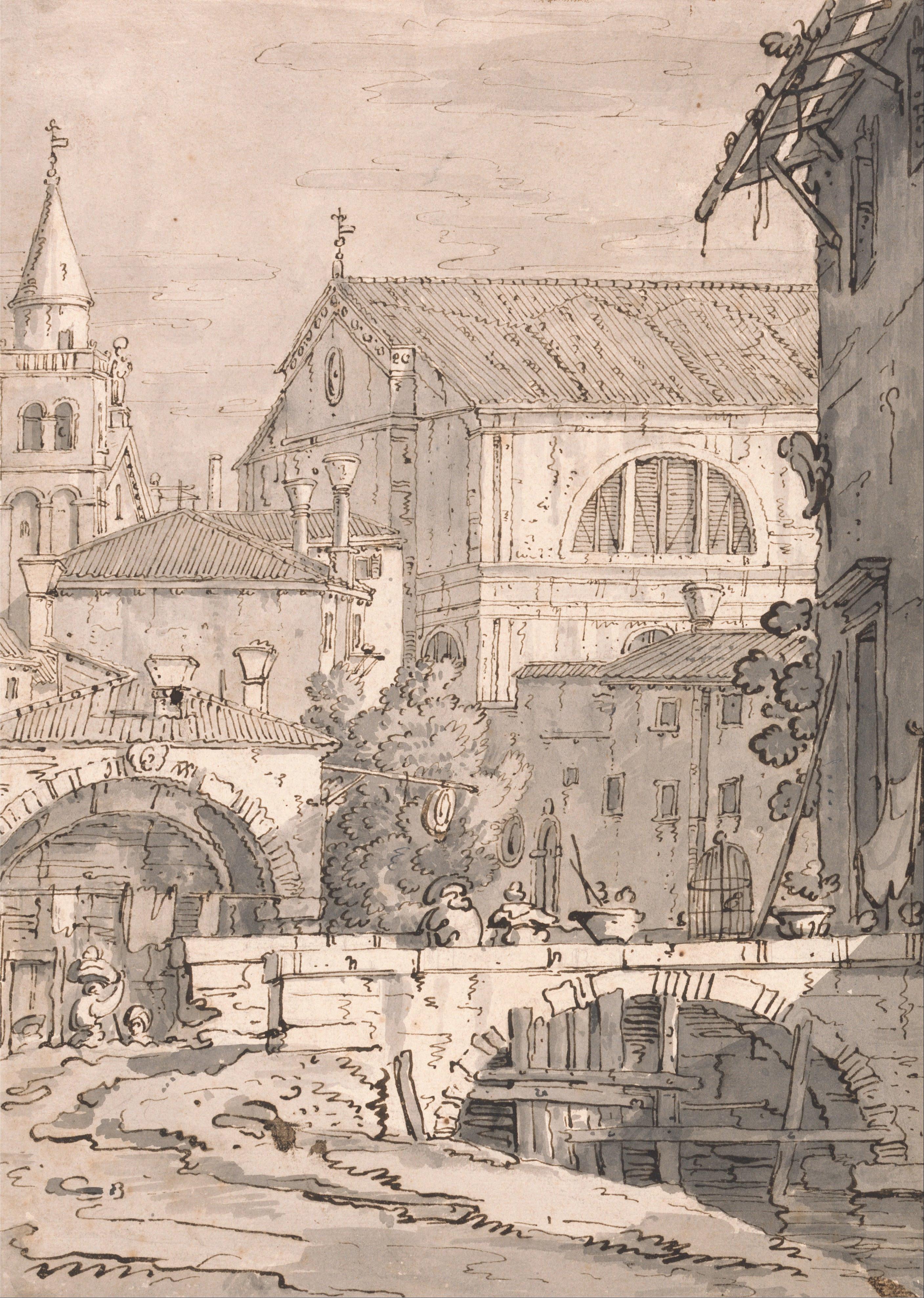 File:Canaletto - Venetian Fantasy - Google Art Project.jpg ...