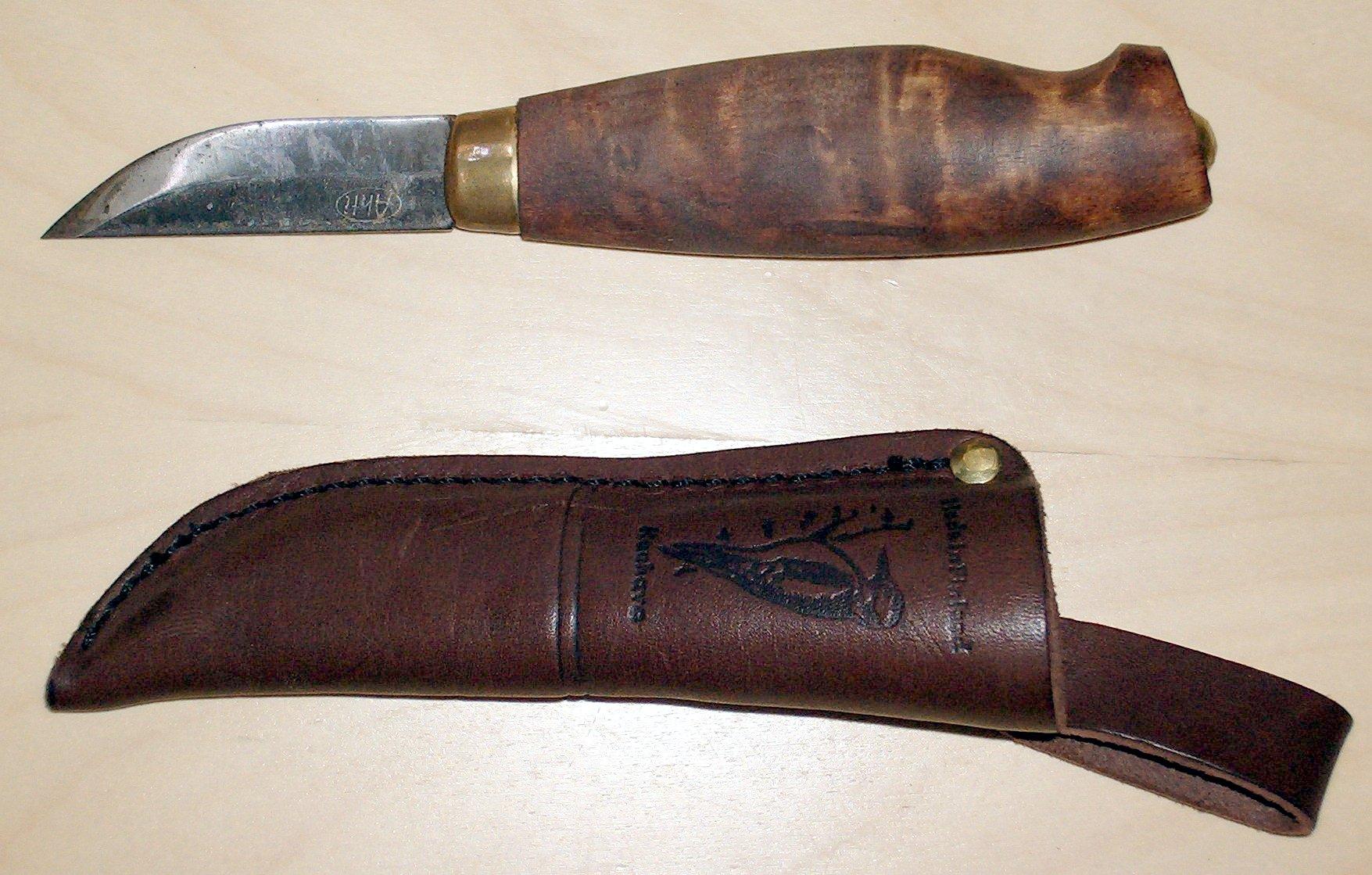 финские ножи из углеродистой стали улыбаемся, может даже