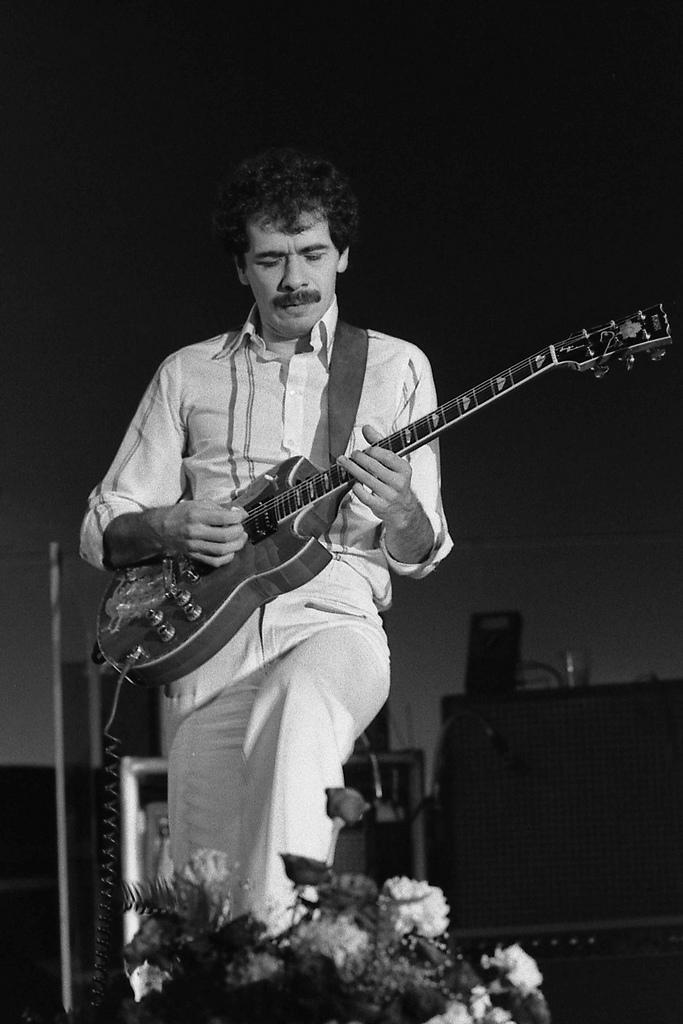 Santana  Tour T Shirt