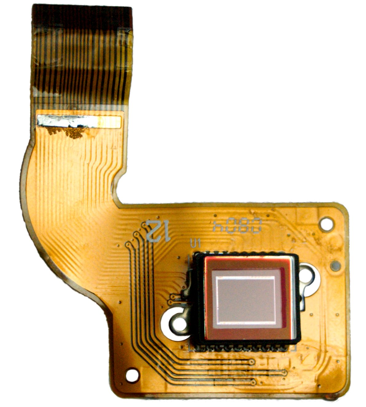 Image Sensor Wikipedia Light Dependant Resistor Forms The Base Of This Module Circuit