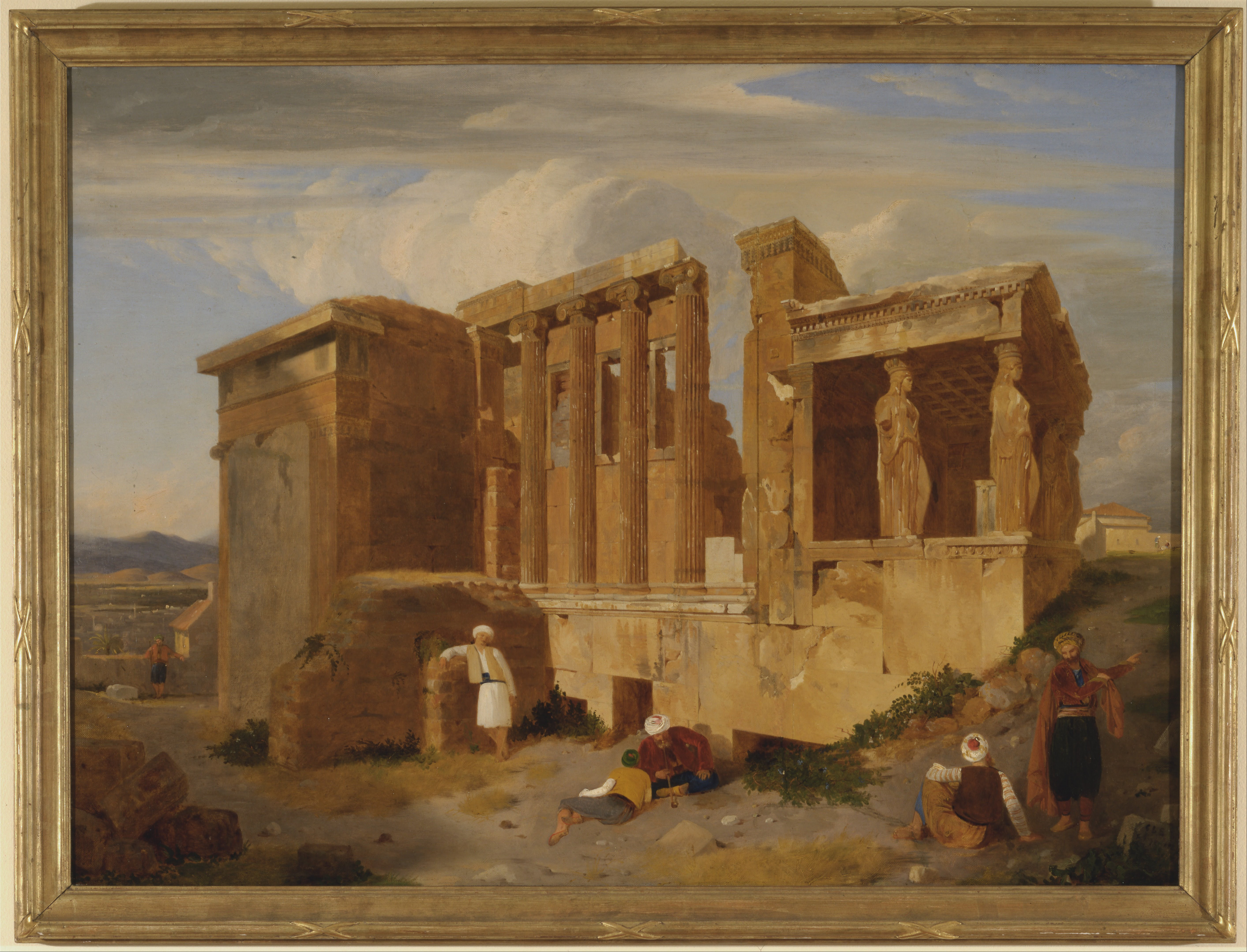 File Charles Lock Eastlake The Erechtheum Athens With