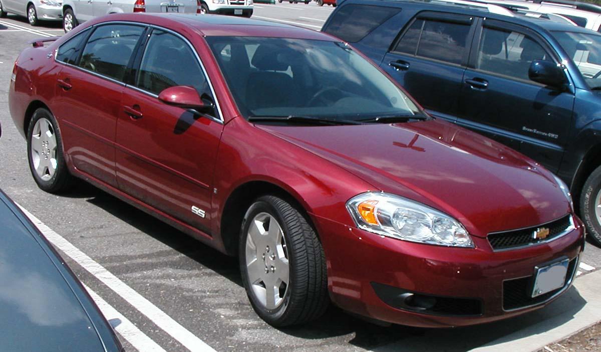 2006 Chevrolet Impala Ss >> File Chevrolet Impala Ss Jpg Wikimedia Commons