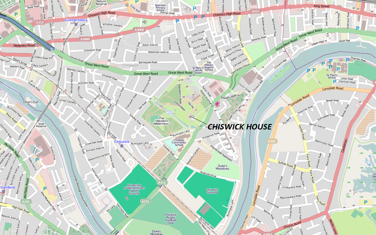 Chiswick wikipedia the free encyclopedia party Free house maps