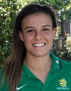 Chloe Logarzo Australian soccer player