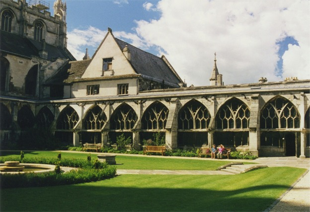 Cloisters at Gloucester Cathedral - geograph.org.uk - 342235