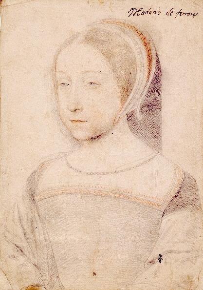 Portret al Prințesei Renée de Jean Clouet