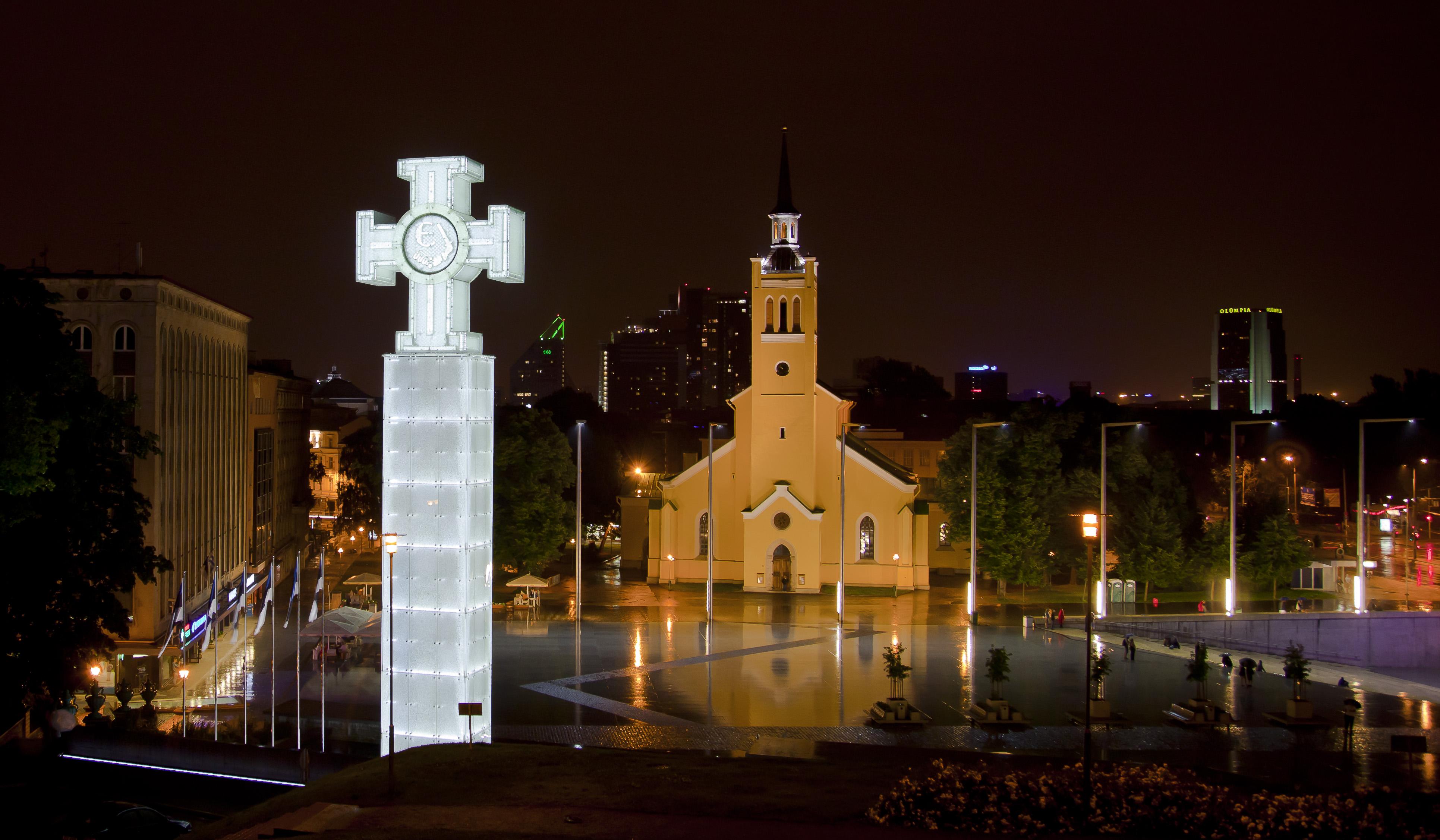 Plaza de la Libertad (Tallin) - Wikipedia, la enciclopedia libre
