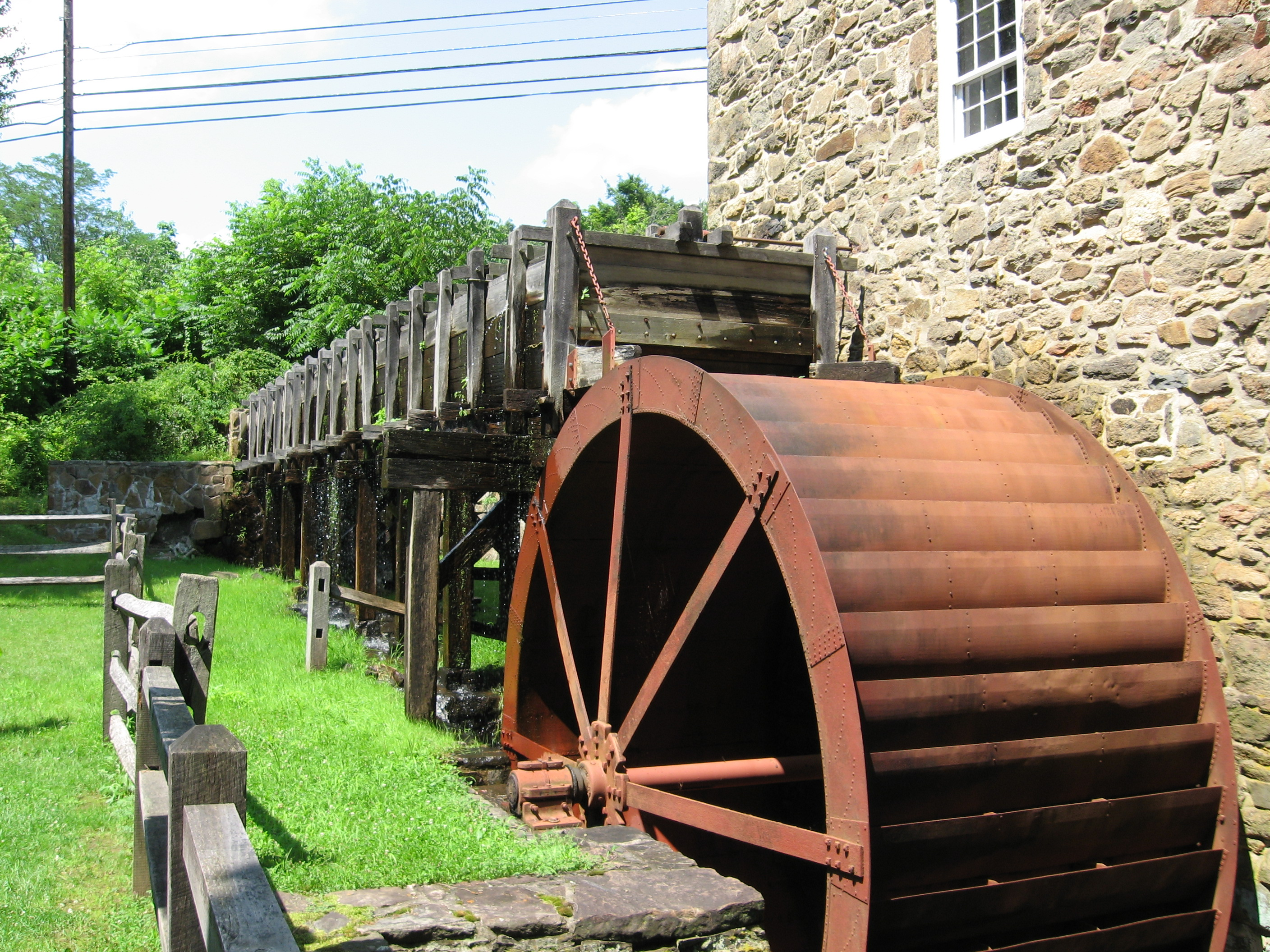 Water Wheel Mill Pictures Cooper Grist Mill Water Wheel