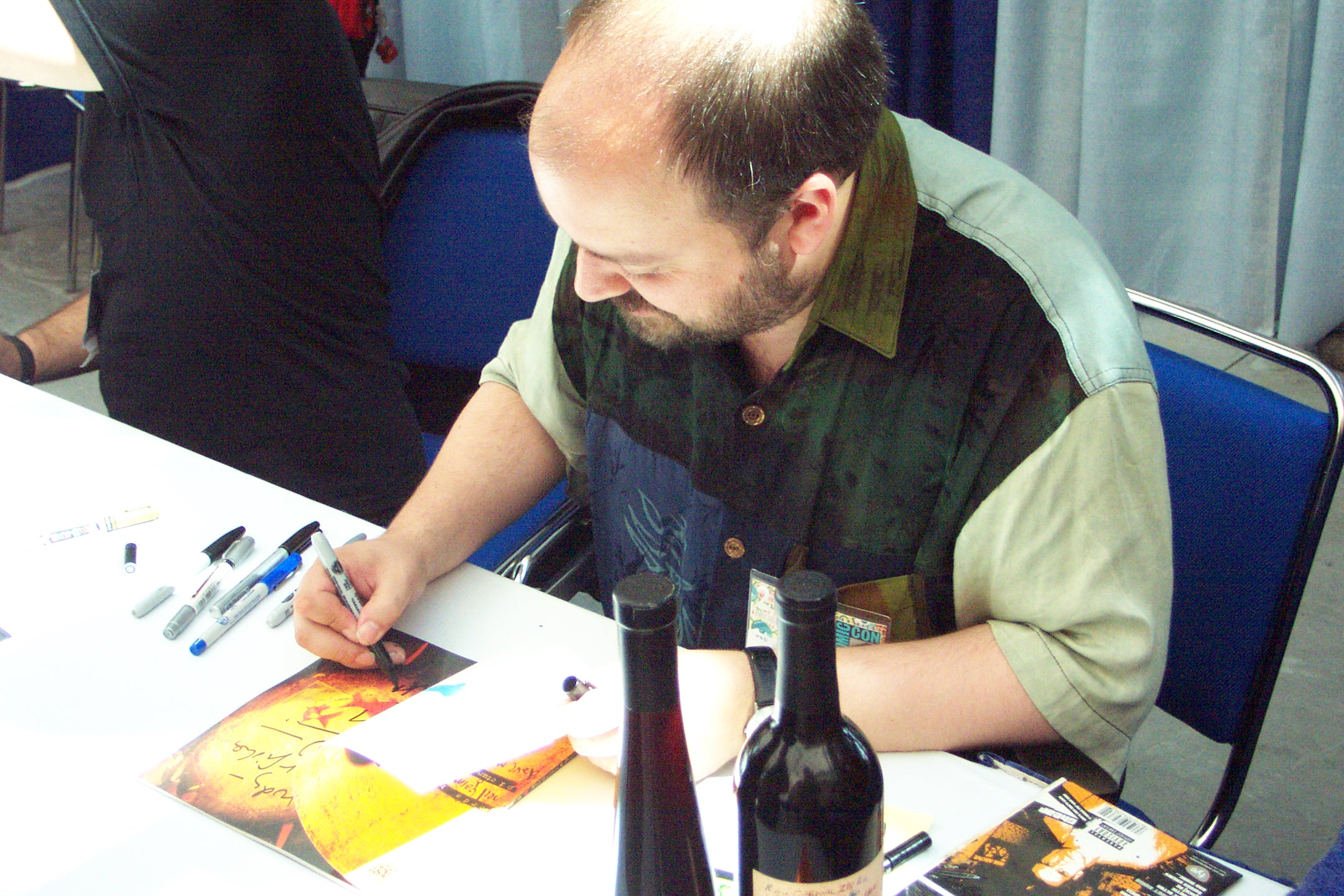 Image of Dave McKean from Wikidata