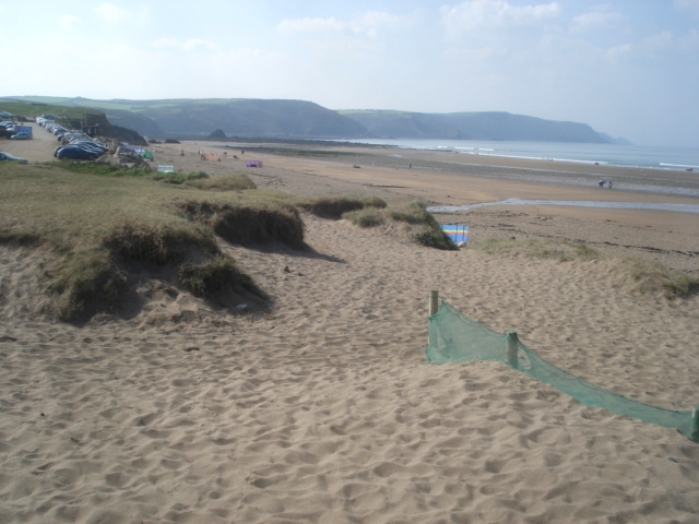 Dunes at Widemouth Bay - geograph.org.uk - 563709