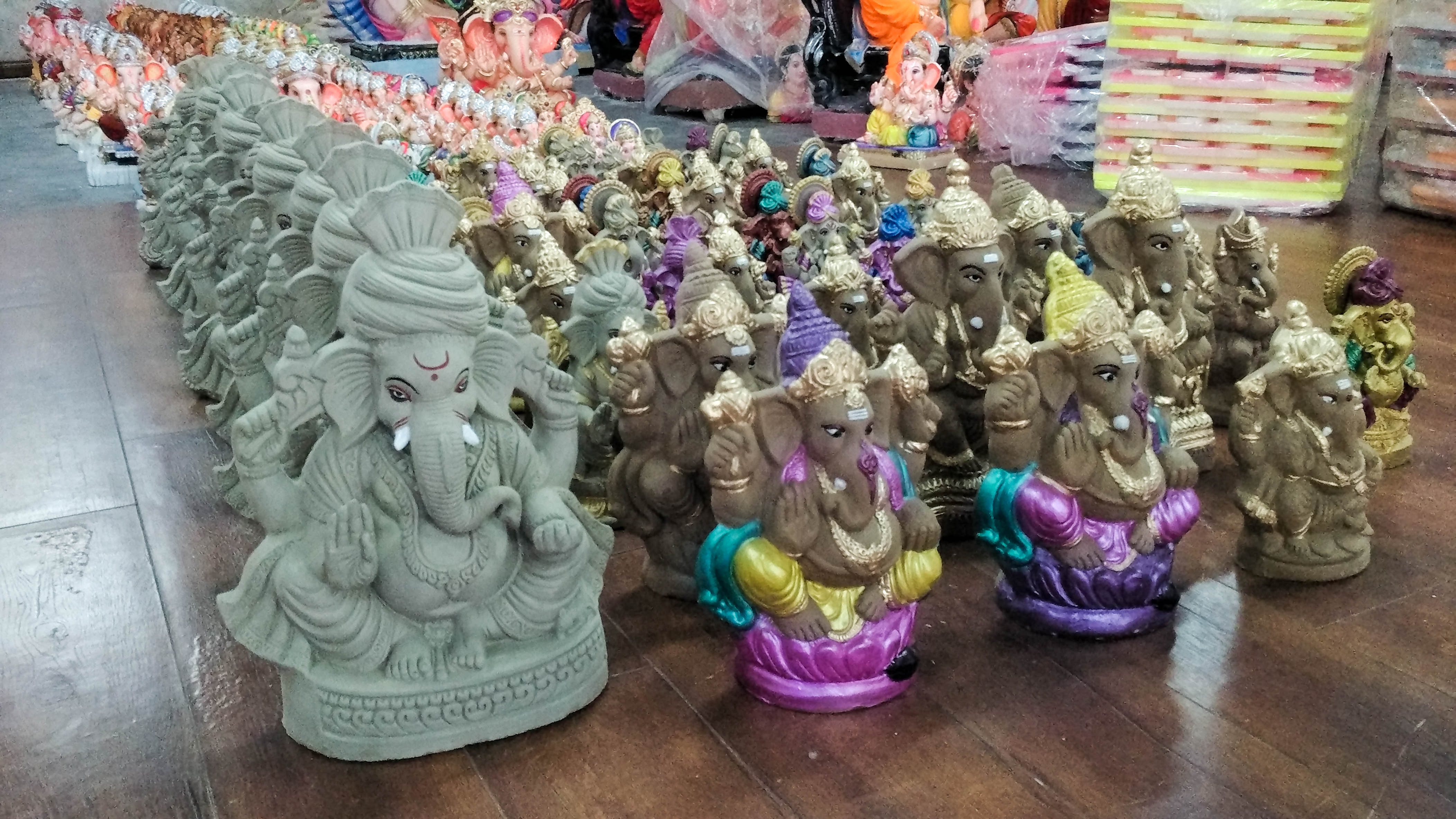 eco friendly ganpati Here's a list of five ganesha idols that caught our attention for supporting a unique social cause while being eco-friendly.