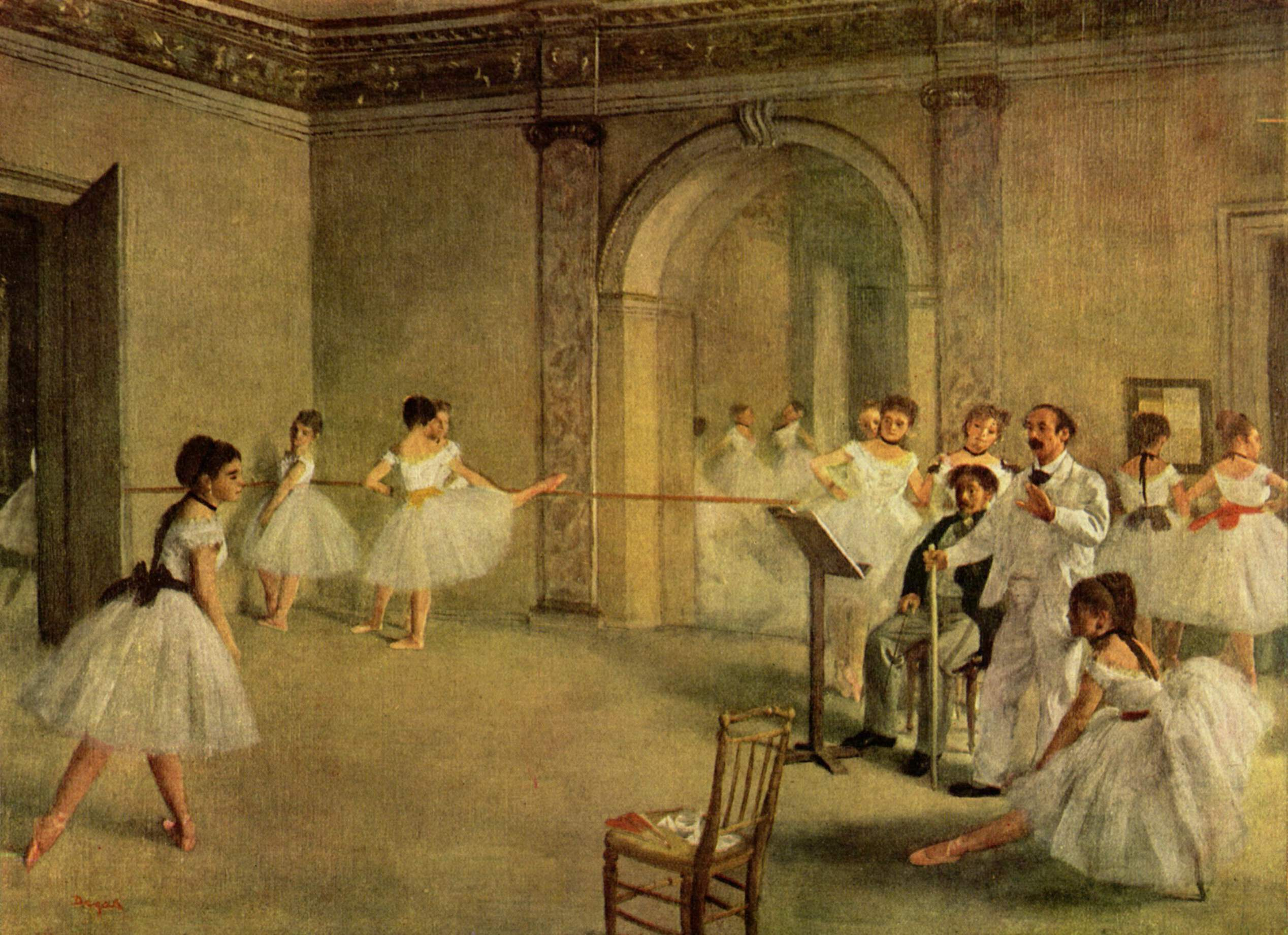 Old Painting     Degas Original