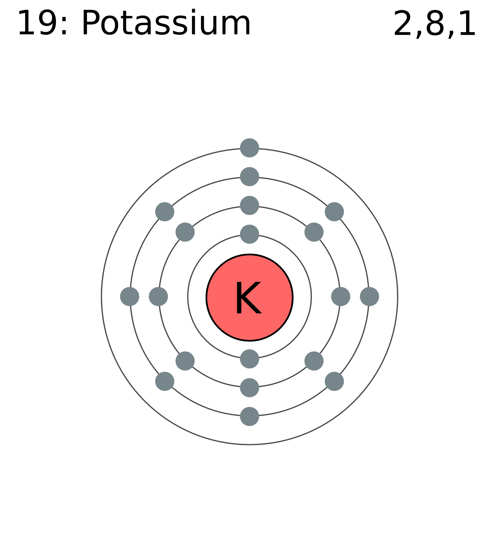 K Electron Configuration Potassium - Homeopathy...