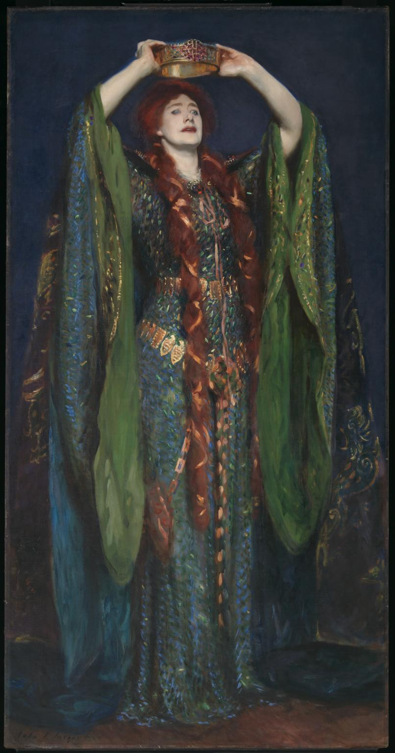 Lady Macbeth, by John Singer Sargent, 1889