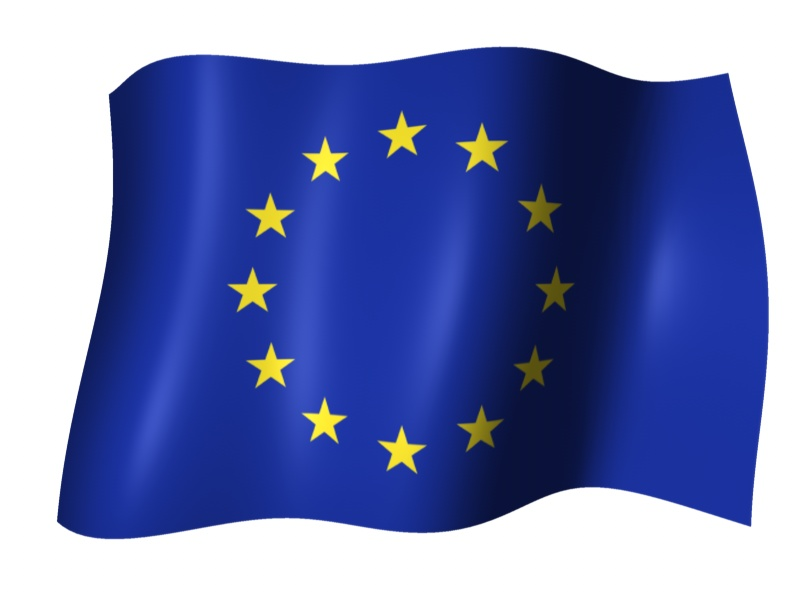 File:European flag wavy.jpg