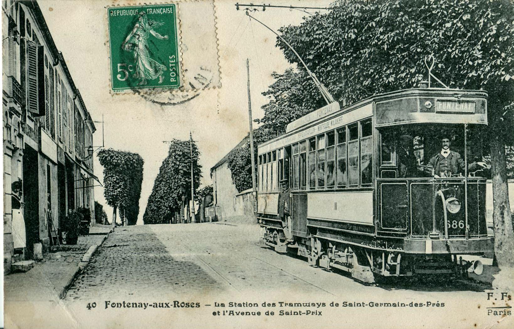 File Ff 40 Fontenay Aux Roses La Station Des Tramways