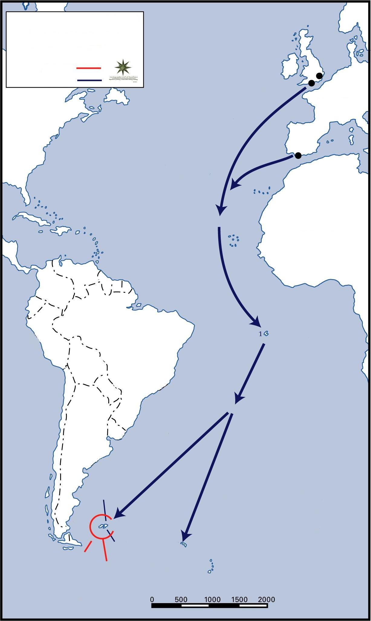 Where Is Falkland Island
