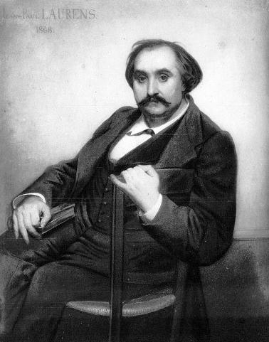 Ferdinand Fabre by Jean-Paul Laurens