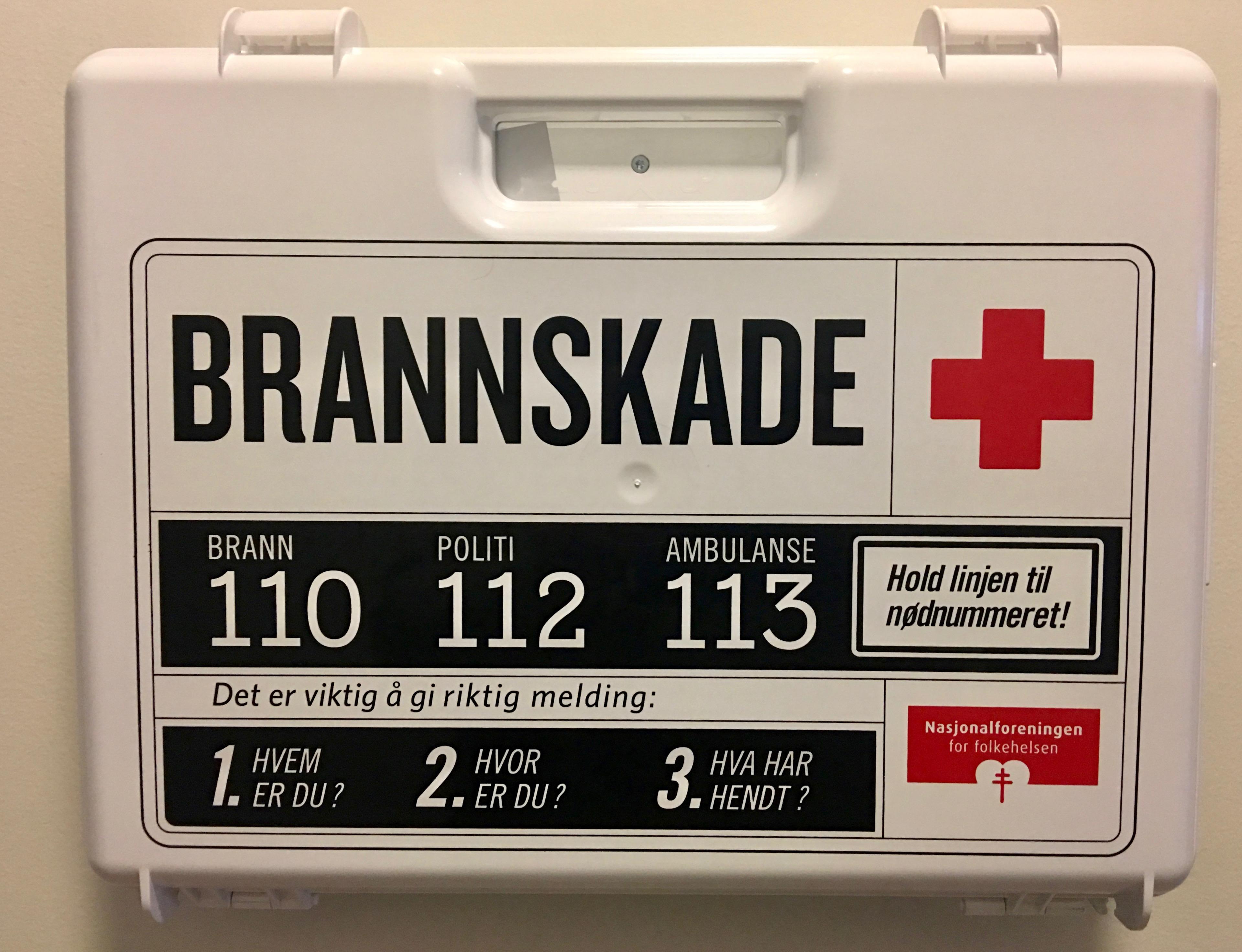 nummeret til ambulanse