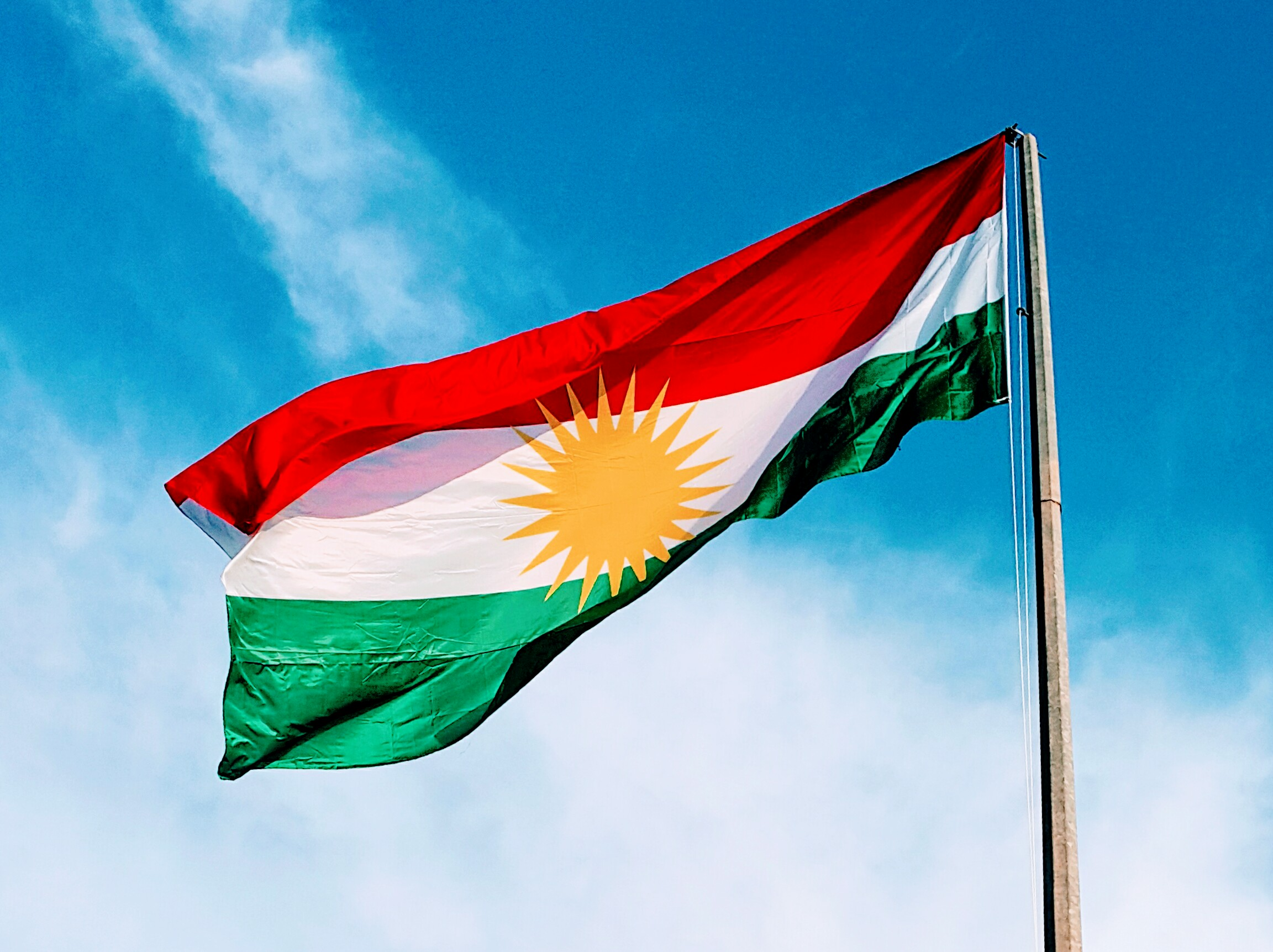 картинки с флагом курдистана парень
