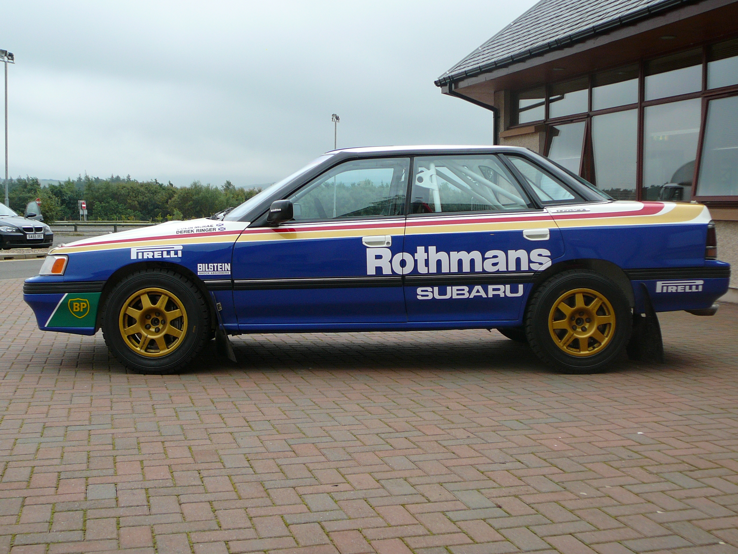 Subaru Rally Car >> File:Flickr - bjmullan - Colin McRae's Subaru Legacy Rally car.jpg - Wikimedia Commons