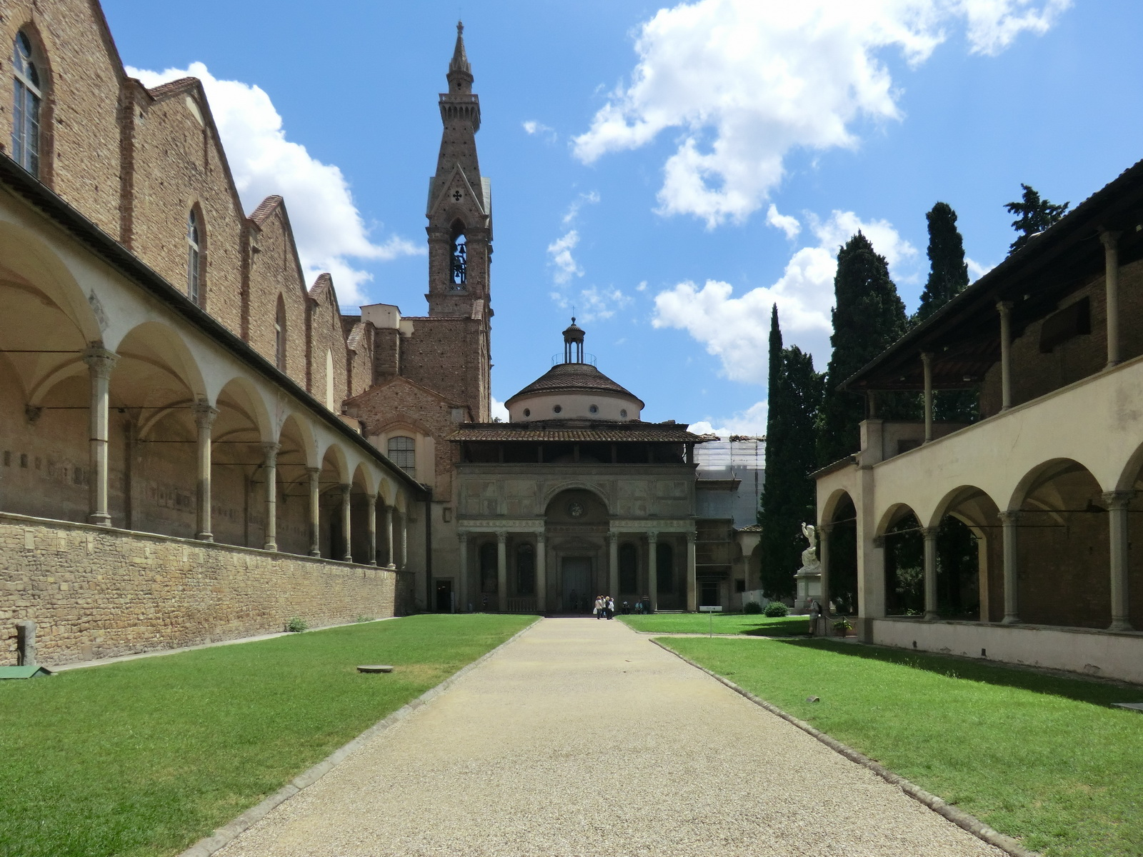 Pazzi Chapel and the cloister, Florence