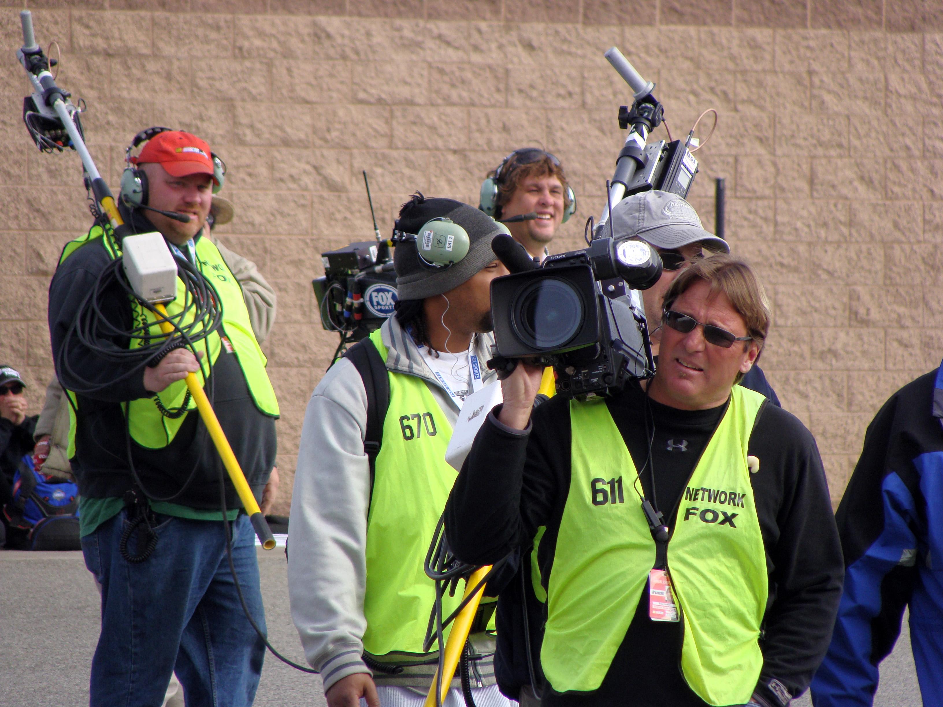 File:Fox Sports Camera Crew at ACS.JPG - Wikimedia Commons