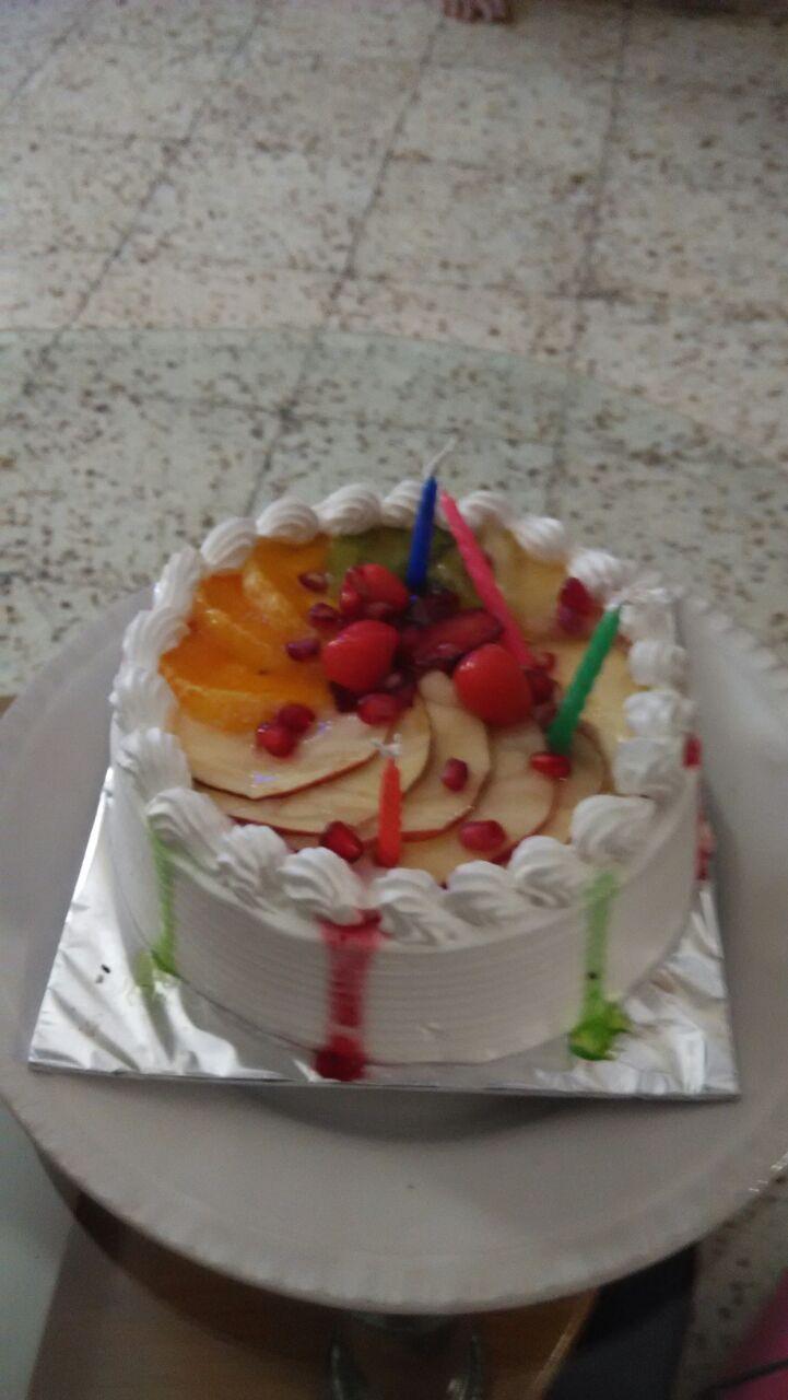 how to make fresh fruit cake
