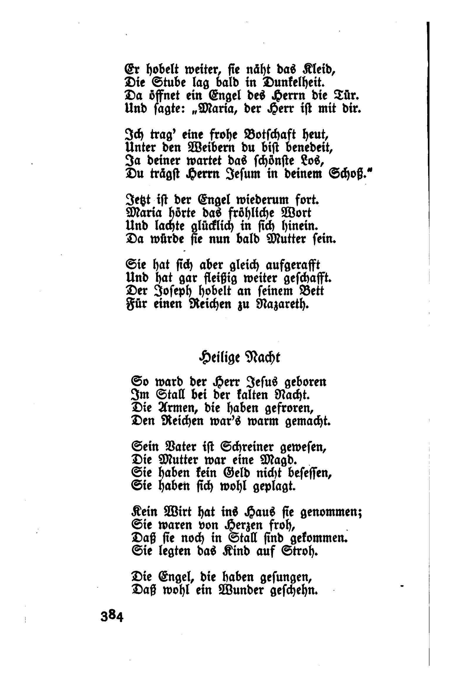 Gedicht heilige nacht von ludwig thoma